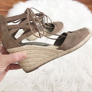 DV Wedge Espadrille sandals